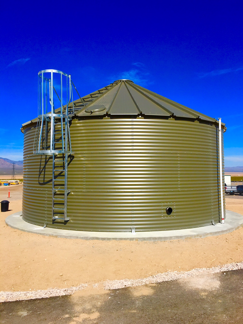 QCS Steel storage tanks