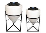 Industrial bulk storage tanks