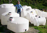 Plastic Water Transport Tanks