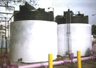 Open Top Containment Tanks